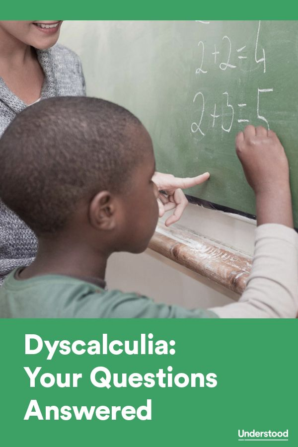 Your questions about #dyscalculia answered