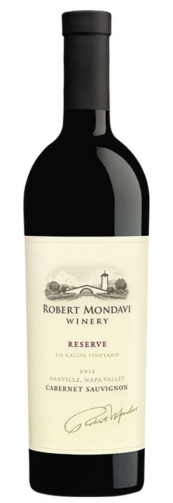 Robert Mondavi Reserve Cabernet Sauvignon 2012 - A powerful wine, our 2012 Reserve Cabernet Sauvignon has rich, spicy blackberry and blueberry fruit, cinnamon, sage, coriander and tobacco flavors. While muscular, the wine is elegantly structured with fresh acidity, fine tannins and a richly dense mouthfeel.