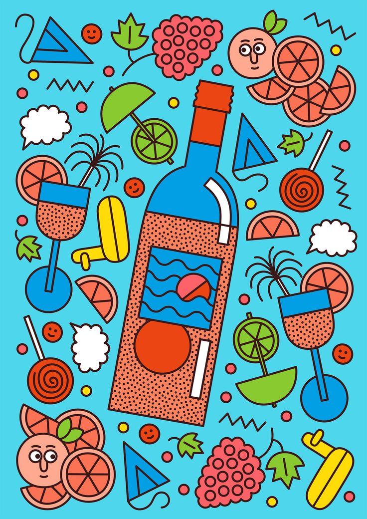 Fruit and Wine by Martina Paukova | Agent Pekka