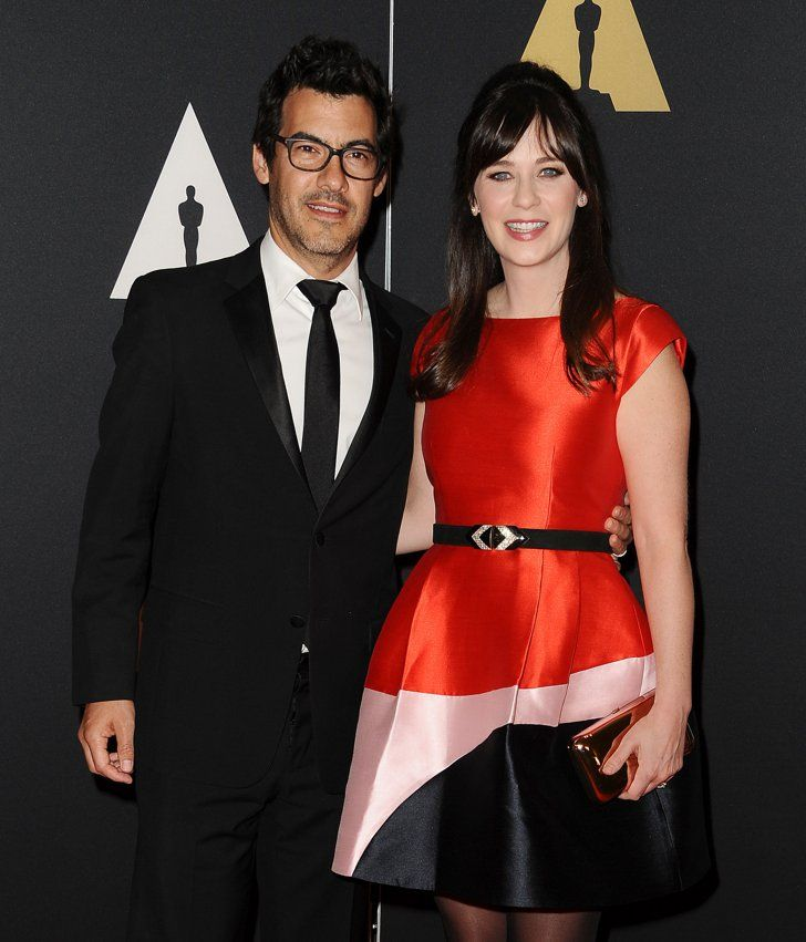 Pin for Later: Baby Boom! All the Stars Who Became Parents This Year Zooey Deschanel and Jacob Pechenik