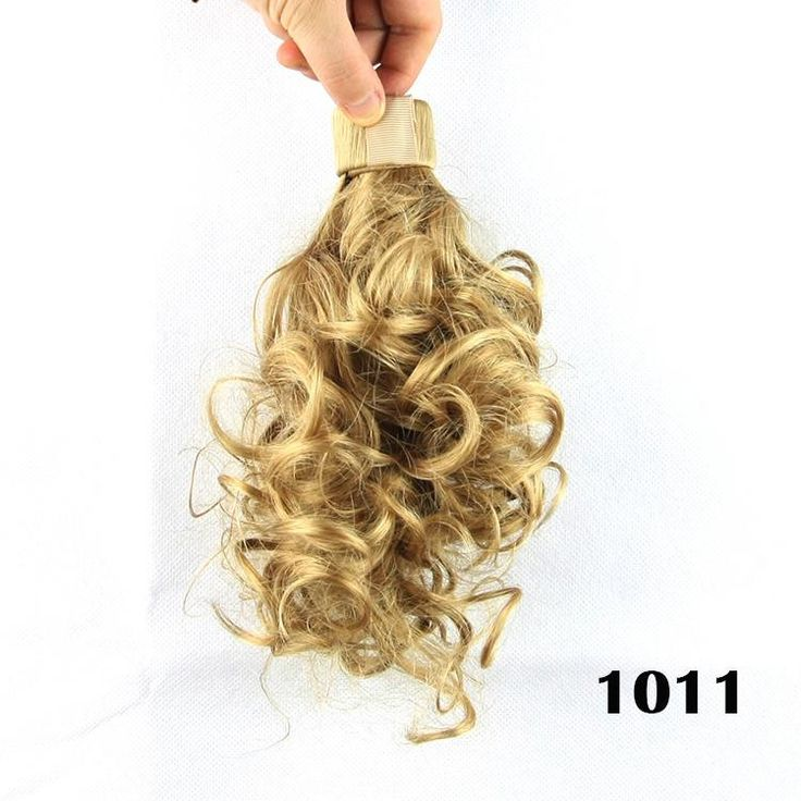 8'', 8 colors, wavy curl Ponytails, Synthetic ponytail, hair band Hair Extensions, 1pcs
