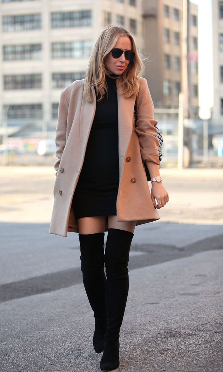 Noemia via BrooklynBlonde.com / @Helena Glazer Watch: Raymond Weil 'Noemia' | Coat: Theory | Dress: Susana Monaco | Boots: Stuart Weitzman 'All Legs' | Sunglasses: Dior | Ring: Gabriel & Co. Thursday, December 3, 2015