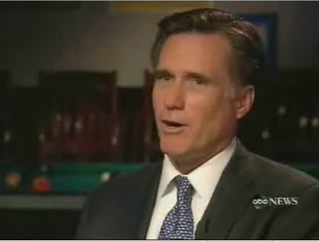 n | Mitt Romney--The Mormon Presidential Candidate, Is Interviewed By ...