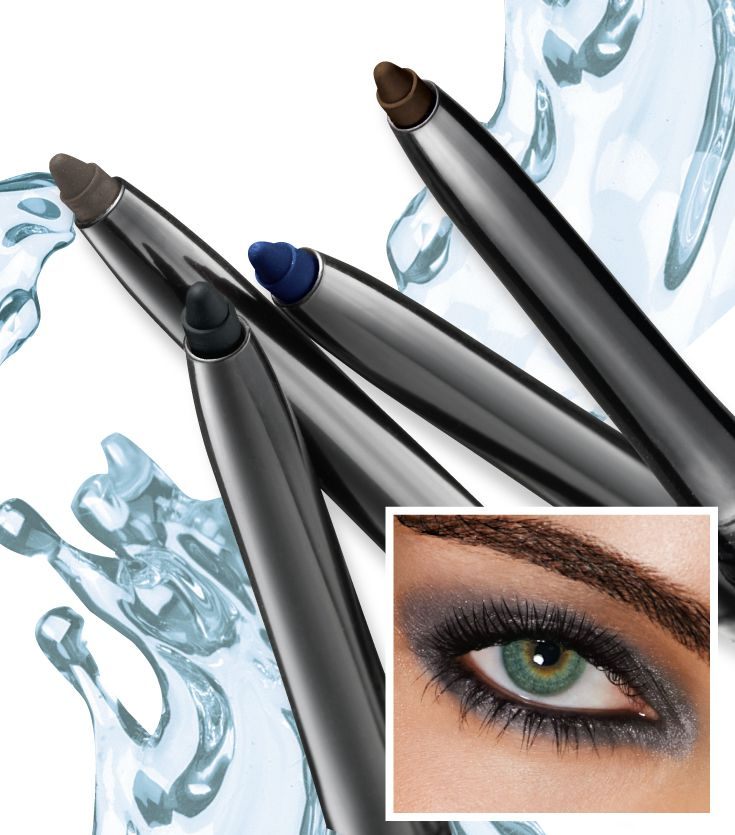 Stay-put colour. Glimmersticks Waterproof Eye Liner. #AvonCanada