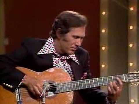 """Wow, I wish I could play like this.        """"The Entertainer"""" played by Chet Atkins"""