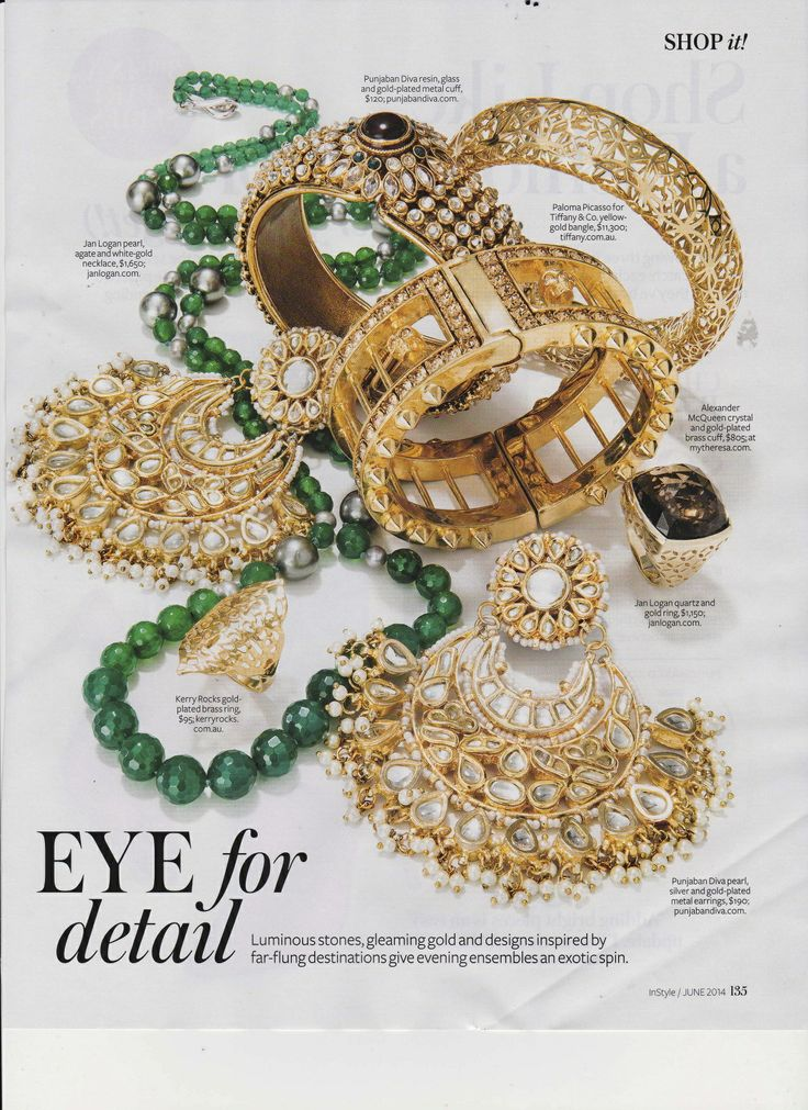 Instyle June 14 featuring - Seville Ring Gold