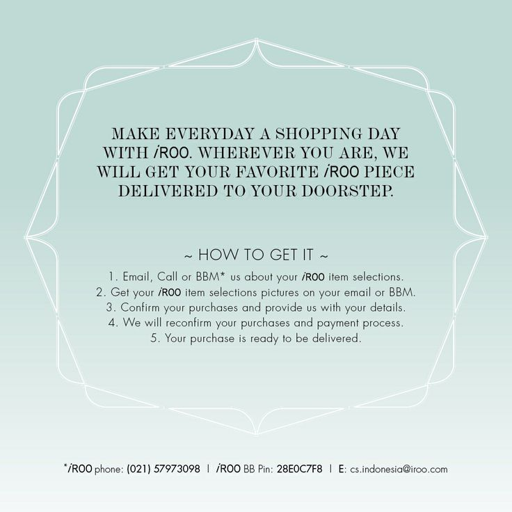 Do you know that now you could order our items without even have to step outside your house?Just follow these simple off-store purchase #irooindonesia #fashion #style #stylish #love #TagsForLikes #me #cute #photooftheday #nails #hair #beauty #beautiful #instagood #instafashion #pretty #girly #pink #girl #girls #eyes #model #dress #skirt #shoes #styles #outfit #purse #jewelry #shopping