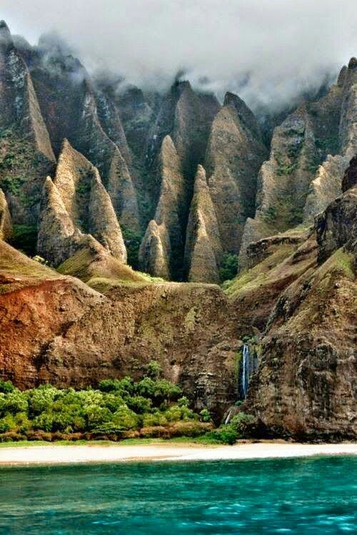 The Nā Pali Coast State Park Encompasses 6,175 Acres Of