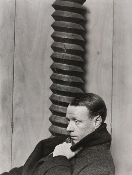 It is impossible to discourage the real writers – they don't give a damn what you say, they're going to write. • Sinclair Lewis.  Photo by Man Ray, Paris 1926