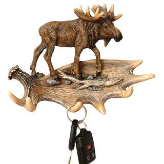 Moose and Antler Key Hooks