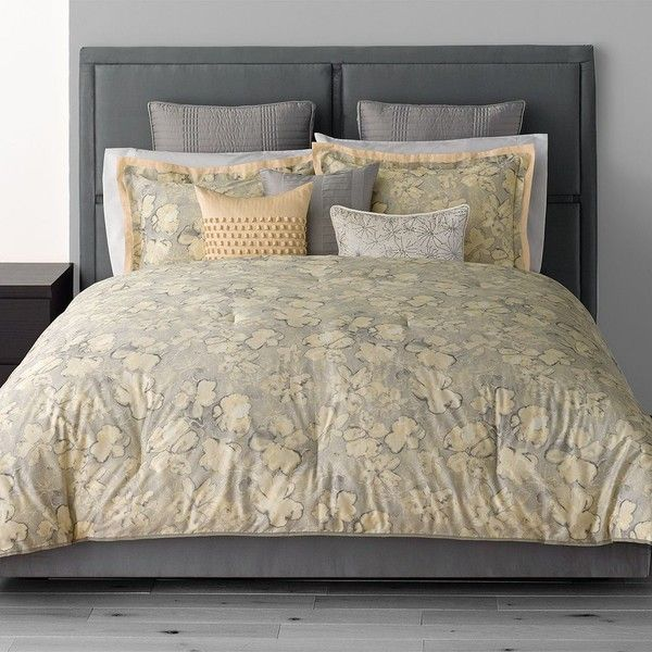 Simply Vera Vera Wang Etching 3 Pc Comforter Set Grey