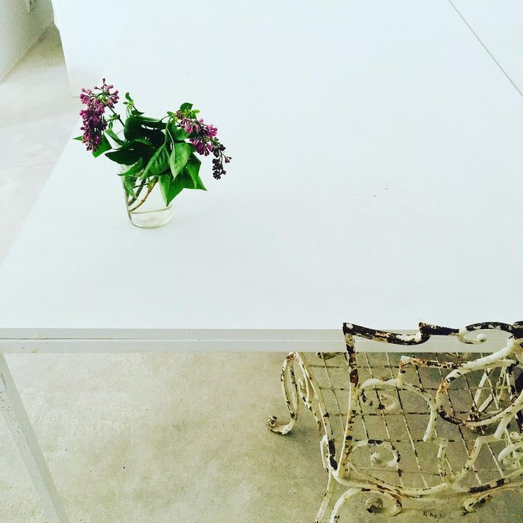 #home#lilac#simpleluxury#cement#nineteenthcenturychairs#metal#kitchen#France#whereflowersdream #wherethewildthingsare#