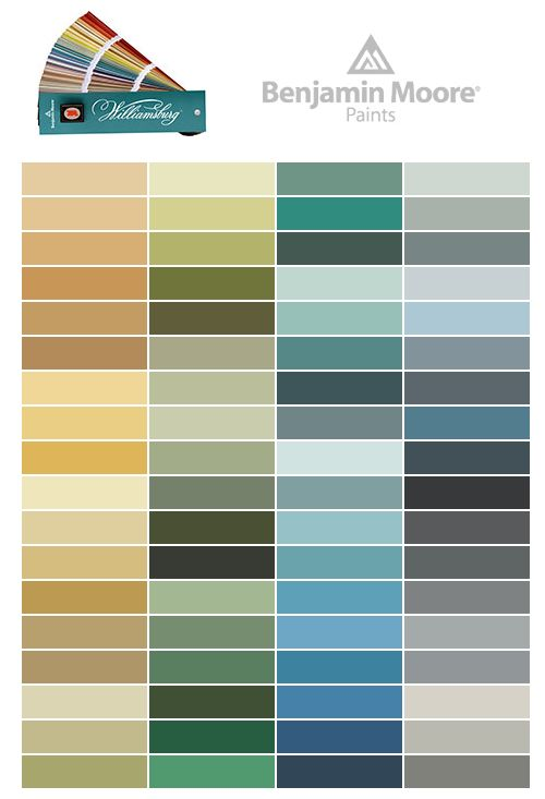 1000 images about williamsburg paint colors by benjamin