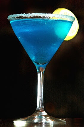 Starry Night Martini (1 oz. Stoli Citrus 3/4 oz. Blue ...