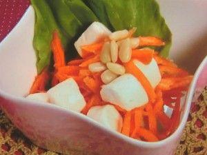 Carrot marshmallow salad  にんじんとマシュマロのサラダ NHKあさイチ  2015年9月7日