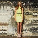 Cooper St Luminous Lace Dress Peplum Dress
