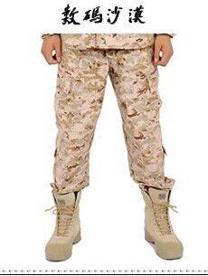 Тактические армия армия брюки брюки мужчин на открытом воздухе пустыни джунгли брюки тактические штаны цифровой пустыня армейские брюки