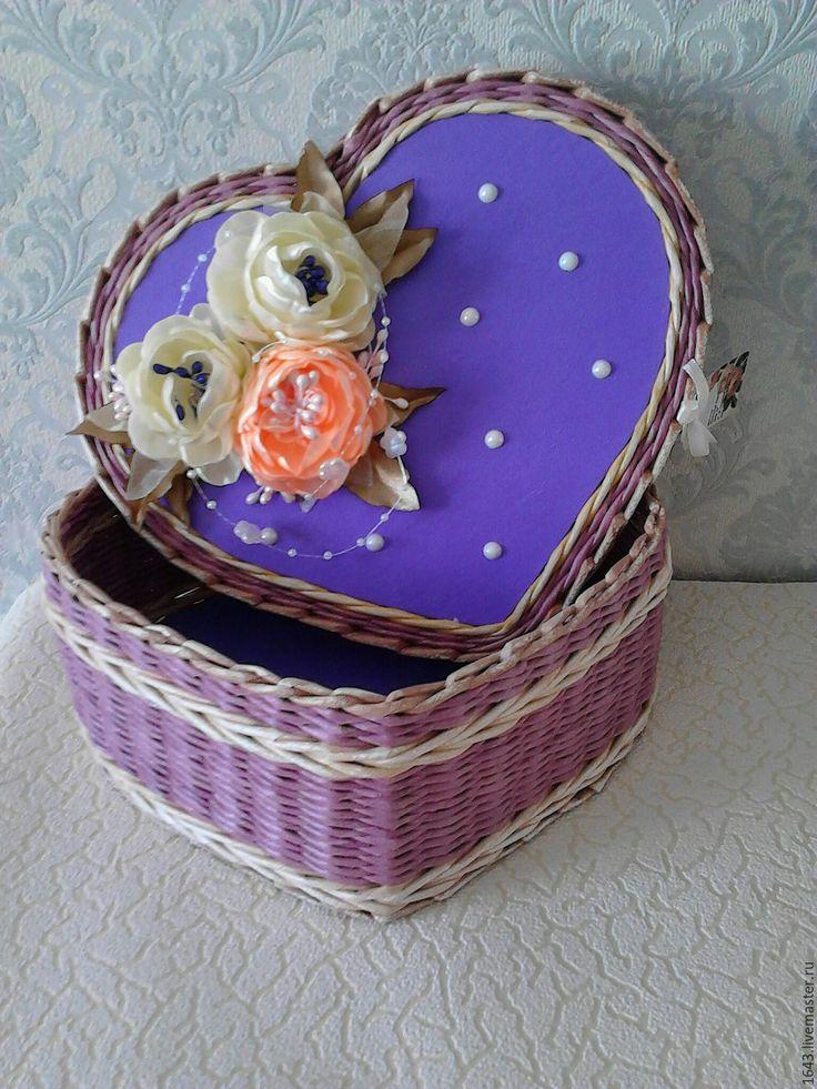 Картинки по запросу плетение шкатулка сердце
