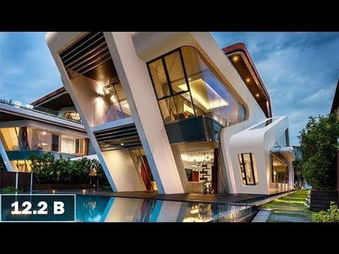 Look Inside The World S Most Expensive 12 2 Billion Mansion Home Pool House Designs Cool House Designs Swimming Pool Designs