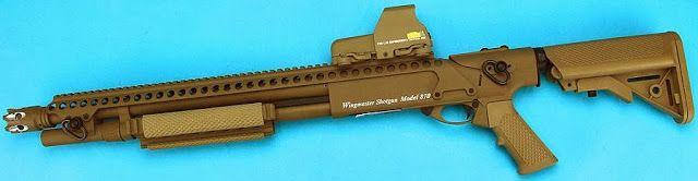 3 Fusils à pompe M870 chez G&P Airsoft