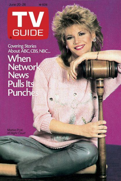 TV Guide June 20, 1987 - Markie Post of Night Court.