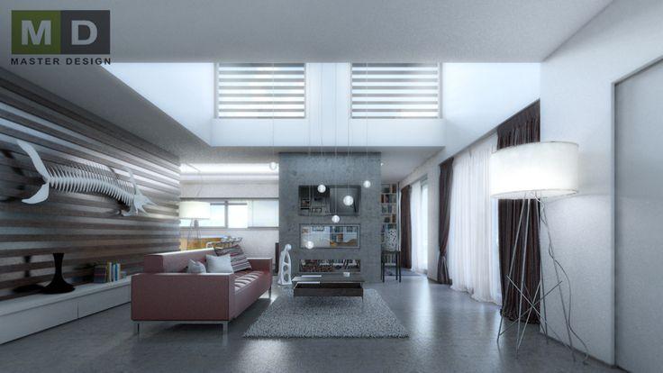 Interiéry rodinného domu v Budišovicích