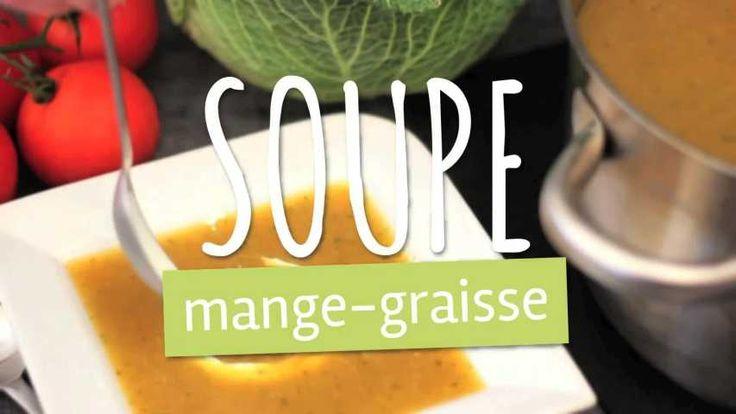 Recette de Soupe mange-graisses. Facile et rapide à réaliser, goûteuse et diététique. Ingrédients, préparation et recettes associées.