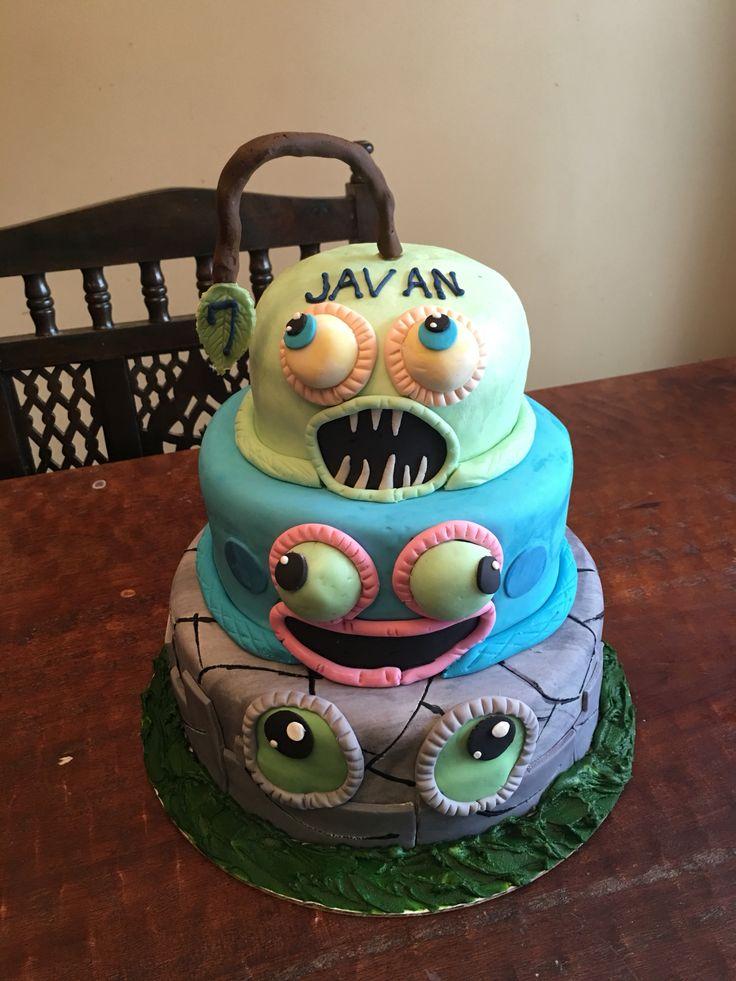 Javan S My Singing Monsters Cake Birthday Stuff