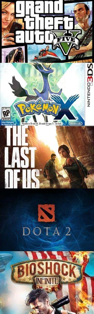 Cinque memorabili videogiochi usciti nel 2013