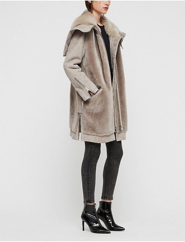83489259e6b ALLSAINTS State Lux shearling parka in 2019   When A Coat Makes All ...