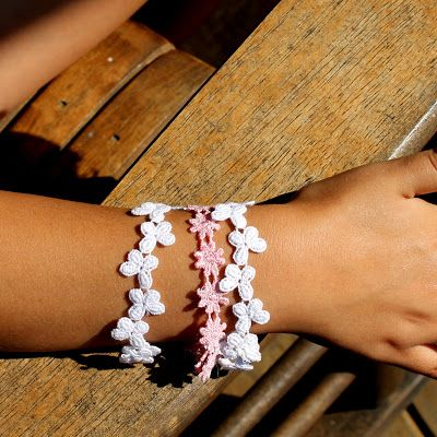 Cruciani Inspired Lace Bracelet DIY (for my daughter) | Soccer Mom Style