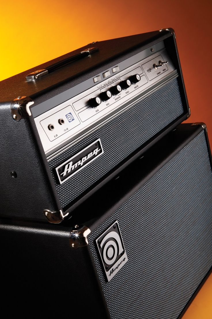 Ampeg V-4B 100W Bass Amp & SVT-112AV 300W Cab Review - Guitar and Bass | Guitar & Bass