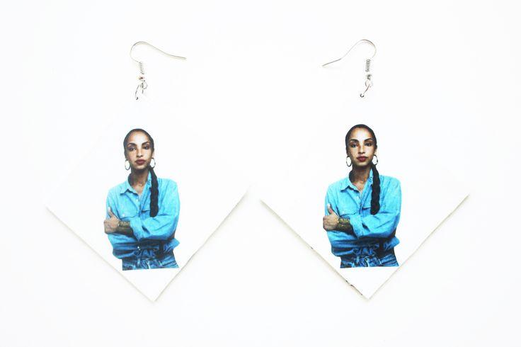 """""""#Sade Adu"""" #earrings   #kltart  #sadeadu #nigeria #nigerian #naija #jazzmusic #quietstorm #jewelry"""