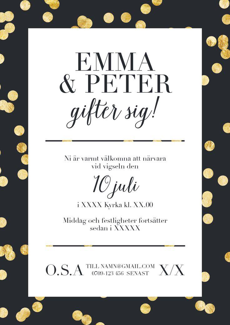 bröllopsinbjudan rolig - Sök på Google