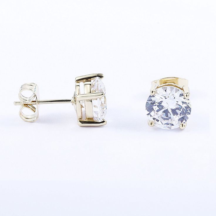 #Jewelry #Bestgift #MothersDay #Studearrings #Diamond #Fashion #Style #gorgeous #Princess 18K Gold Plated Round Cubic Zirconia Small Stud Diamond Earrings for Sensitive Ear Link:https://www.amazon.com/dp/B06XFXZS2P?m=A2J5YGWO33M4IA&ref_=v_sp_detail_page
