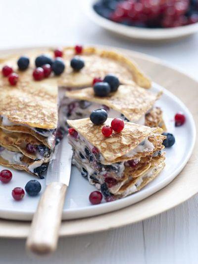 Yummy Layered Pancake Recipe