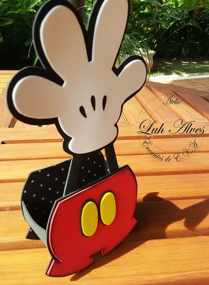 Centro de Mesa Mickey Mouse - Imagen lateral
