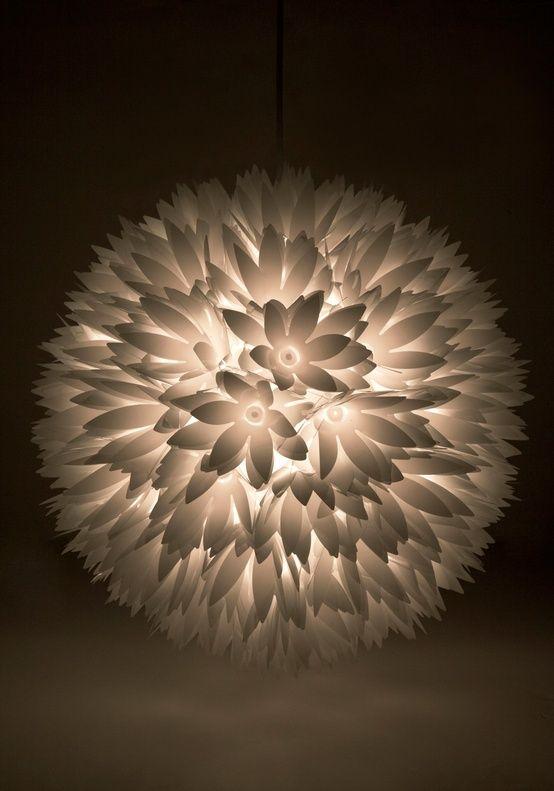 papierlampen blumen selber machen light pinterest origami papier lampes et origami. Black Bedroom Furniture Sets. Home Design Ideas