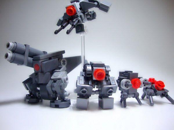 40 impressive robots built with lego bricks bricks lego brick and lego. Black Bedroom Furniture Sets. Home Design Ideas