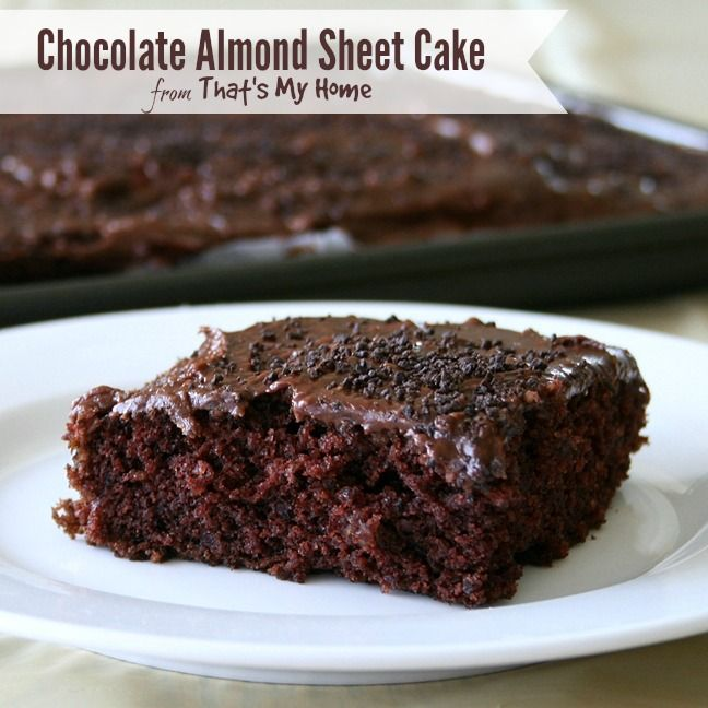 for chocolate frosting chocolate chocolate sprinkles chocolate almond ...