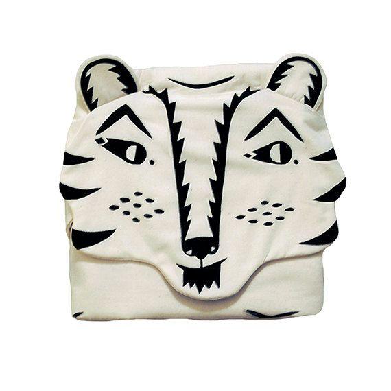 Heirloom Tiger Blanket by romawinkel on Etsy, $155.00