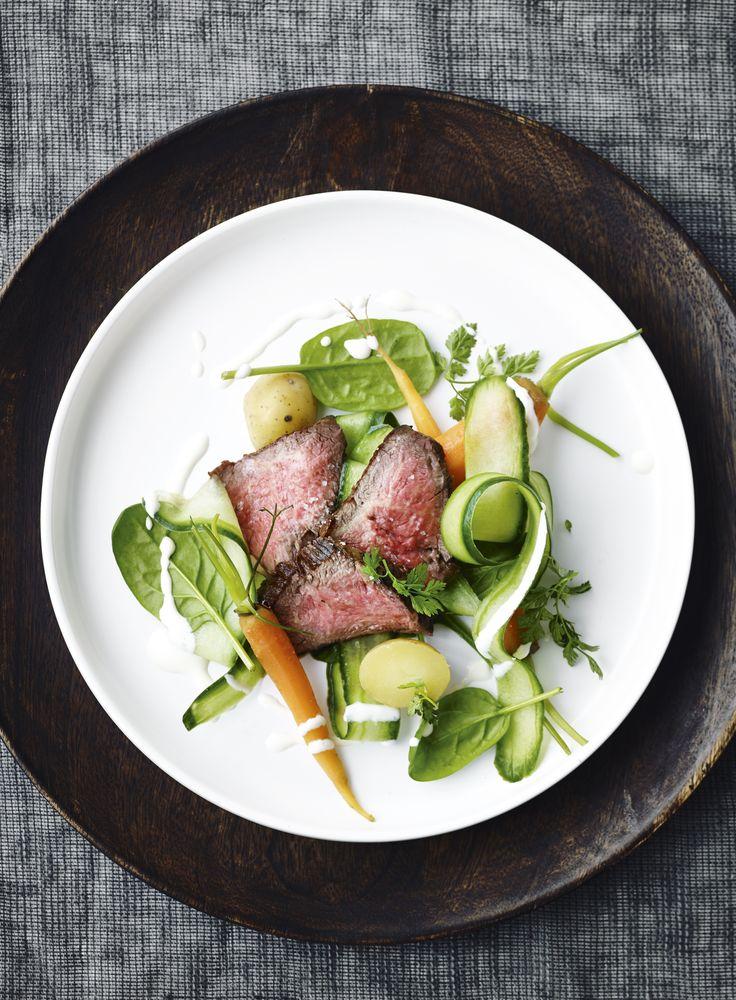 Delikat, enkel og utrolig velsmagende ret, som smager af dansk forår.