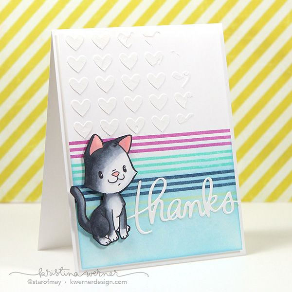 Card Making Inspiration Ideas Part - 20: Copic Markers U0026 Some Odd Girl Clever Kittys U2013 Color Wednesday #60