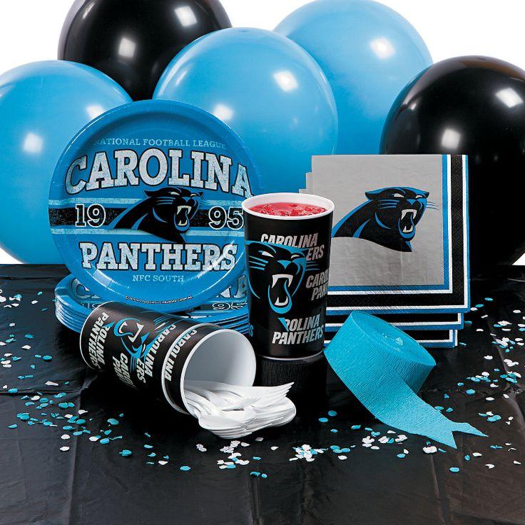 NFL® Carolina Panthers™ Basic Party Pack - OrientalTrading.com