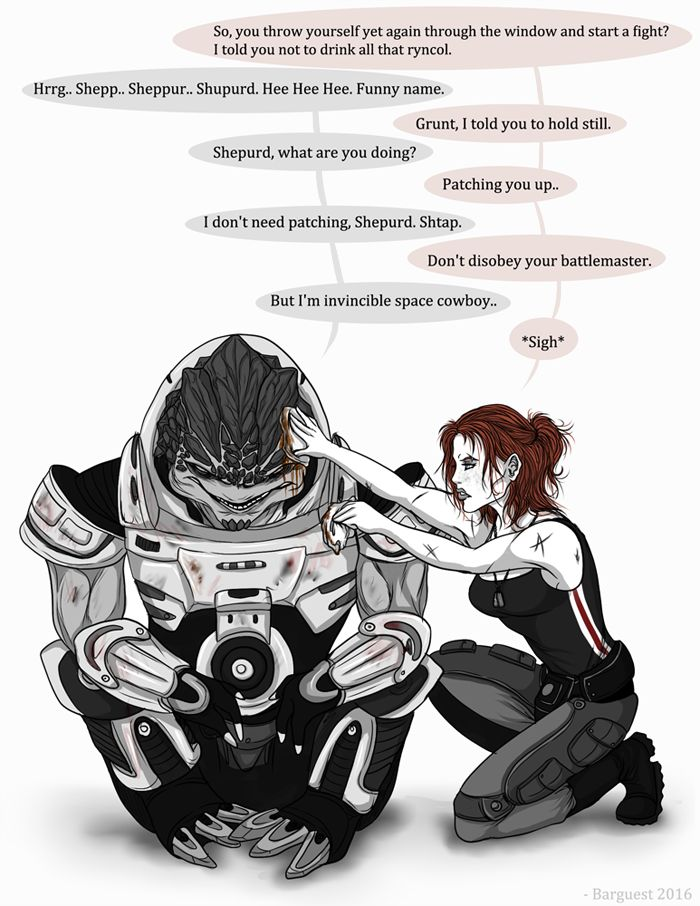 Shupurd shtap. (Mass effect) by Barguest.deviantart.com on @DeviantArt