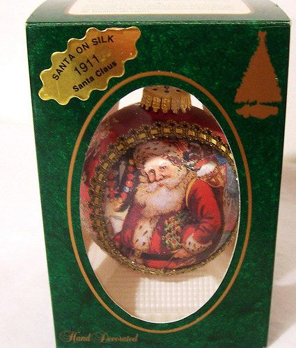 1911 santa on silk 1995 httpswww.etsy.comshopAvaricia | by Avaricia's Deadly Sinful Vintage Millinery Supply