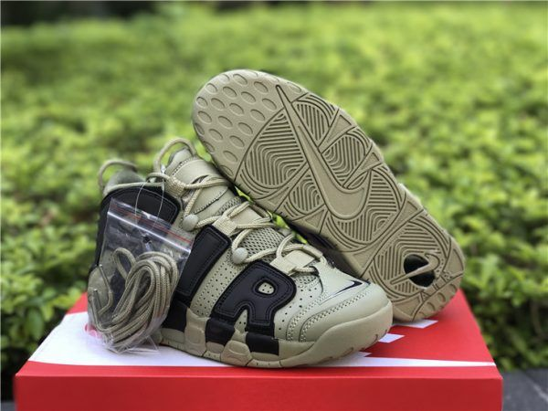 2019 的 Nike Air More Uptempo Dark Stucco and Black For Sale  82ad9cdea
