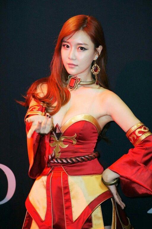 dota 2 lina cosplay #choi
