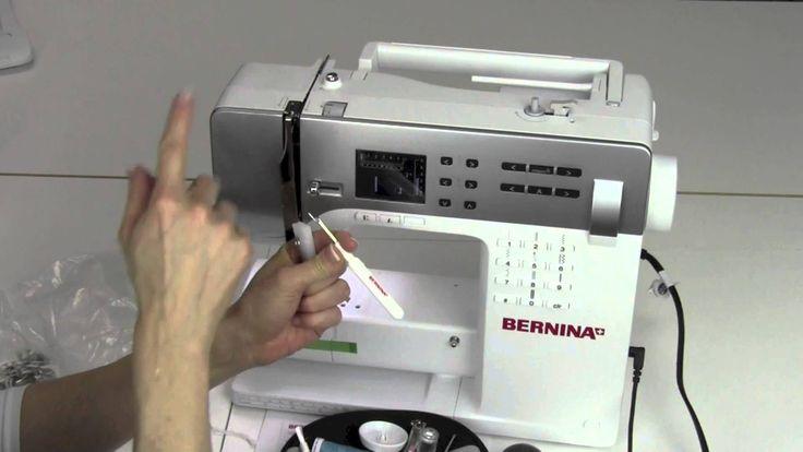 Bernina 330 02 Set Up
