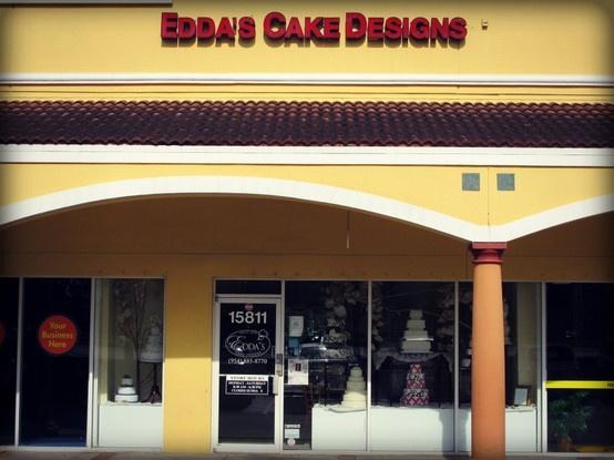 Cake Designs Pembroke Pines : Pembroke Pines location. http://www.eddascakedesigns.com ...